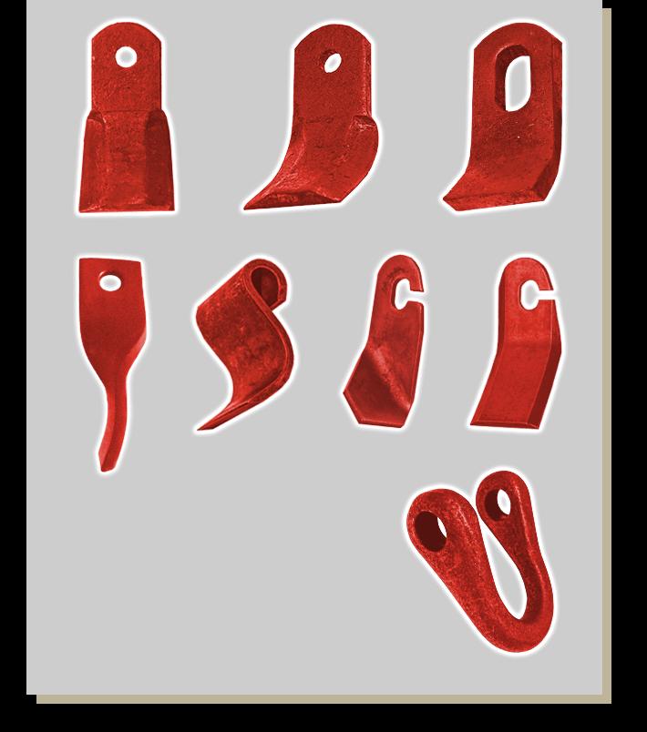 noże do kosiarek bijakowych